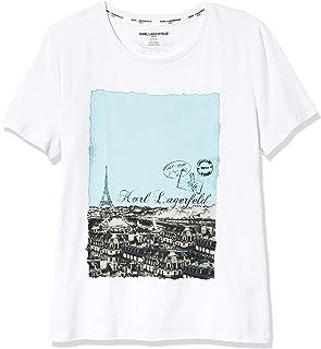 Karl Lagerfeld Paris Women's Short Sleeve T-Shirt