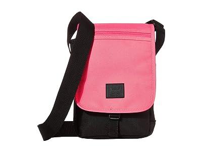 Herschel Supply Co. Lane Small (Neon Pink/Black) Messenger Bags