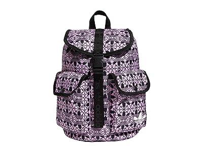 adidas Originals Originals Utility Mini Backpack (Clear Lilac/Black) Backpack Bags