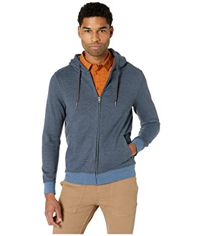 Prana Cardiff Fleece Full Zip (Nickel Stripe) Men