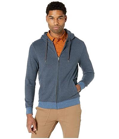 Prana Cardiff Fleece Full Zip (Nickel Stripe) Men