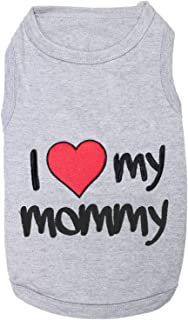 Best i love my mommy dog shirt Reviews