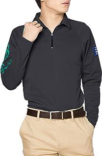 [デサント] 【20年秋冬モデル】BLUE LABEL 長袖シャツ 裏面吸水加工 UVケア UPF50 汗染み防止 DGMQJB11 メンズ