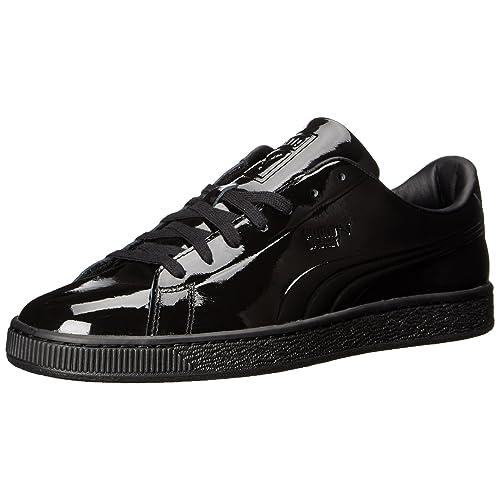 856fc120ff4723 PUMA Men s Basket Classic Patent Emboss Fashion Sneaker