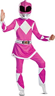 Power Rangers Deluxe Pink Ranger Mighty Morphin Costume for Kids
