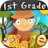 無料スキルを持つ子供のための動物一年生の数学のゲーム:男の子と女の子のための最高の幼稚園、1番目と2番目のグレードの番号、カウント、加算と減算活動ゲーム