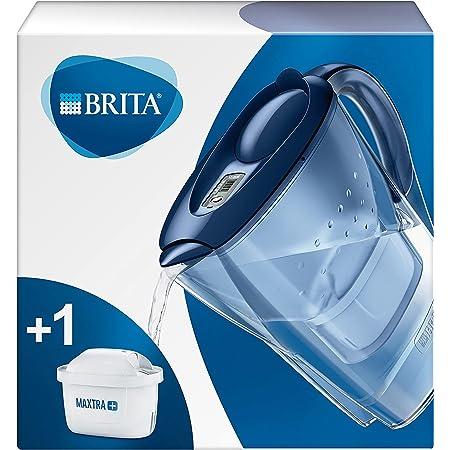 BRITA Carafe filtrante Marella bleue - 1 filtre MAXTRA+ inclus