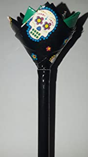 Sugar Skulls Duct Tape Flower Pen
