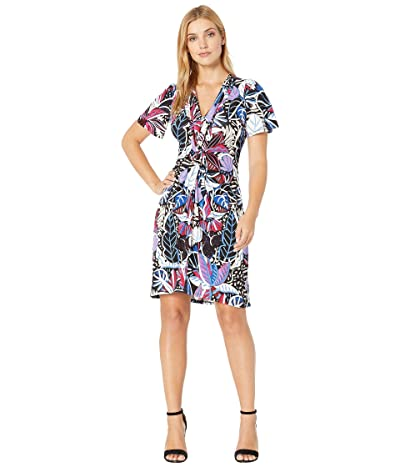 Tommy Bahama Cactus To Clouds Short Dress (Black) Women