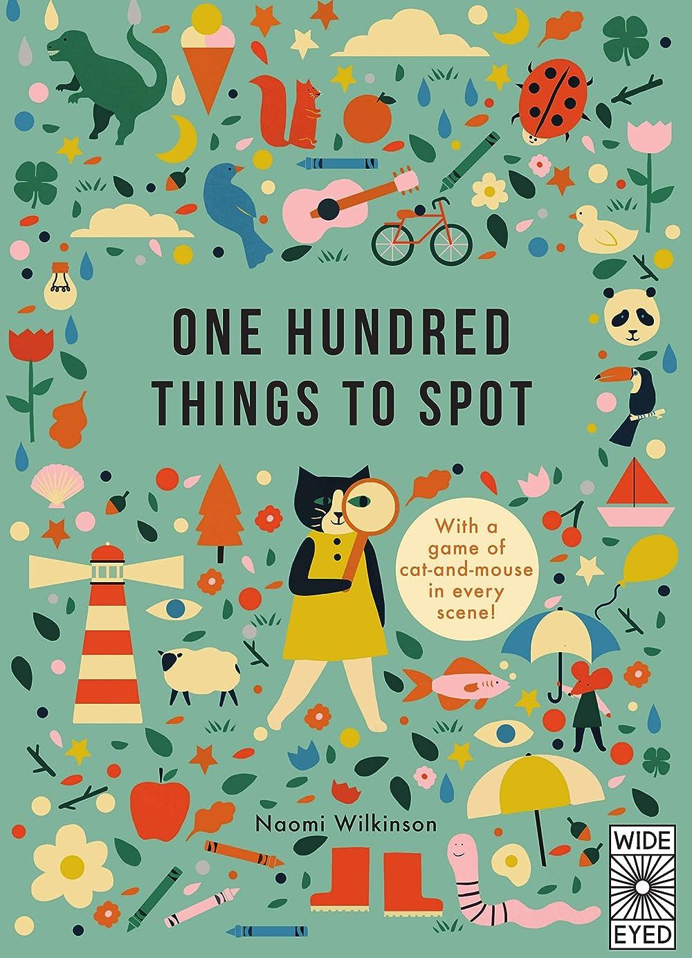 すばらしいです笑い設計One Hundred Things to Spot (Learn with Little Mouse) (English Edition)