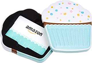 Amazon.com Gift Card in a Birthday Cupcake Tin