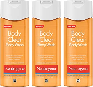 Neutrogena Body Clear Body Wash, 8.5 Fluid Ounce (Pack of 6)