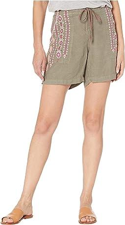 Sabriya Linen Shorts