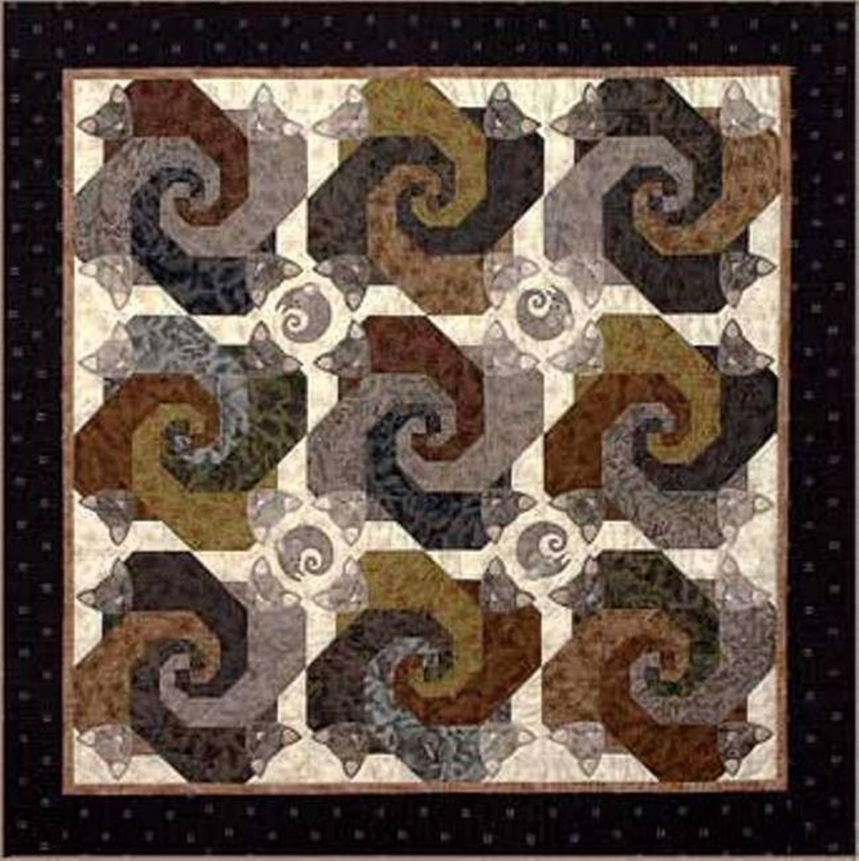 Barn Raising Quilt Pattern | Patterns Gallery