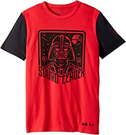 Under Armour Kids - Stretch Woven Squad Leader Short Sleeve Tee (Big Kids)