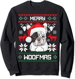 French Bulldog Gift For Merry Christmas Woofmas Frenchie Sweatshirt