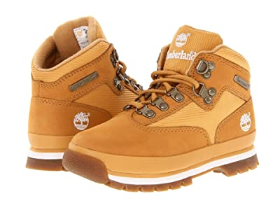Timberland Kids Euro Hiker (Little Kid) (Wheat/Wheat) Boys Shoes