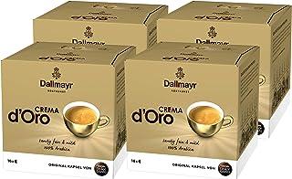 Nescafé Dolce Gusto Dallmayr Crema d´Oro, Pack of 4, 4 x 16 Capsules