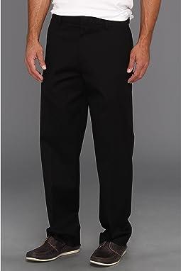 Iron Free Khaki D3 Classic Fit Flat Front