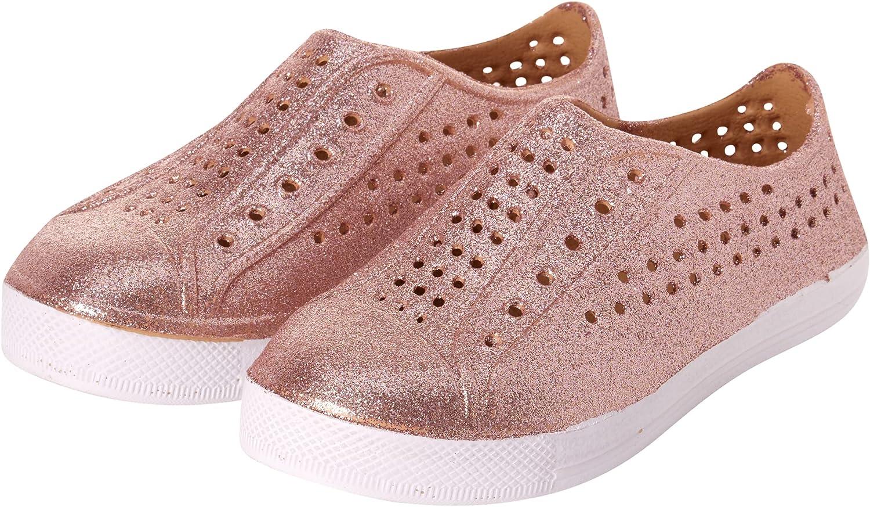 dELiAs Girls' Shoes - Lightweight Waterproof Glitter Water Shoes (Toddler/Little Kid)