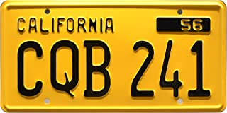 Celebrity Machines Christine | CQB 241 | Metal Stamped License Plate