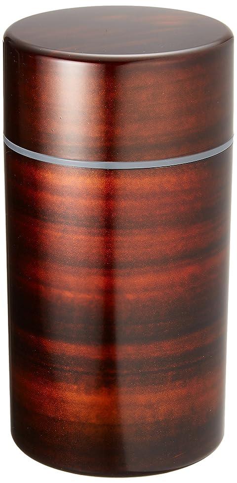 尊敬する実験室動く日本製 HAKOYA たつみや 茶筒丸大 サクラ木目 56701