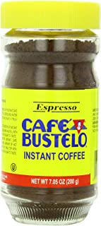 Cafà Bustelo Espresso Style Instant Coffee, 7.05 Ounce (Pack of 12)