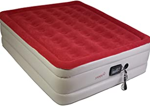Lazery Sleep Air Mattress - Raised Electric Airbed with Built in Pump & Carry Bag - Fast Inflation, LED Remote Control & 7...