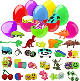 comprar comparacion 100 Huevos De Colores Brillantes Surtidos De Juguetes   Fiestas De Pascua, Caza De Huevos, Regalos et Recompensas   Juguet...