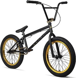 black and gold bike