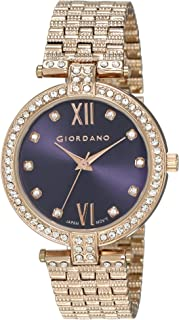 Giordano Analog Blue Dial Women's Watch - A2063-55