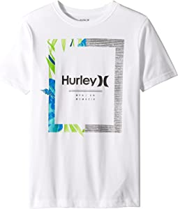 Hurley Kids - Dri-Fit Bloom Tee (Big Kids)