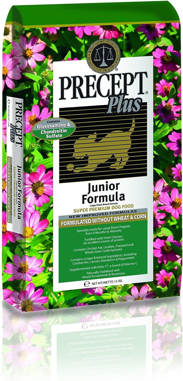 Precept Plus Dog Food Junior Large breed, 12kg
