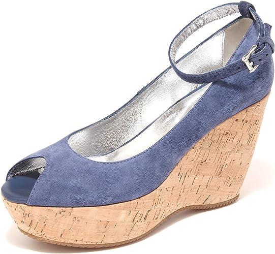 Hogan Decollete Spuntato Zeppa Scarpa Donna Shoes Women 42667