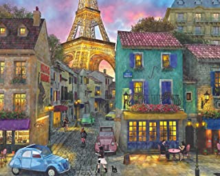 Springbok's 2000 Piece Jigsaw Puzzle Eiffel Magic - Made in USA