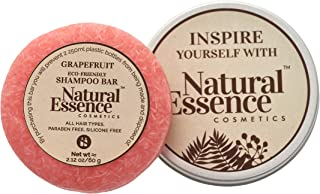 Eco-Friendly Hair Shampoo Bar - Sustainable Solid Shampoo Bar for Normal Oily Hair Grapefruit Shampoo Bar for Sensitive Sc...