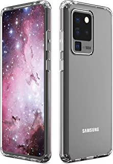 Imguardz Samsung Galaxy S20 Ultra Case Clear, Slim Fit Hybrid TPU Protective Phone Case with Shock-Absorption Bumper Corner Drop Protection for Samsung Galaxy S20 Ultra 5G (2020 Release 6.9 inch)