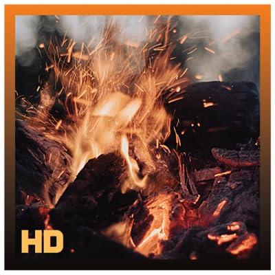Amazing Burning Fireplace HD from Apploft
