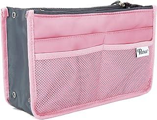 Periea Handbag Organiser - Chelsy - 28 Colours Available - Small, Medium Large (Medium, Pink)