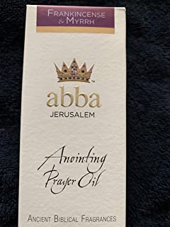 Abba Anointing Prayer Oil - Frankincense & Myrrh, 1/4 oz