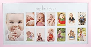 pink photo frames baby girl