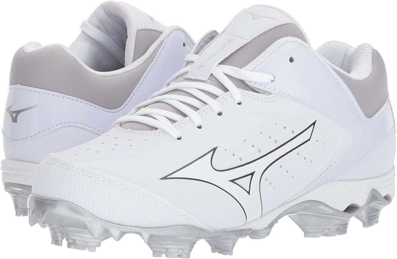 9 M US Mizuno Womens 9-Spike Advanced Finch Elite 3 Softball Shoe
