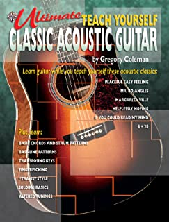 Ultimate Teach Yourself Classic Acoustic Guitar: Book & CD