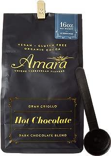 Amara Unique Venezuelan Flavors. Hot Chocolate