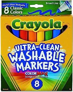 نشانگرهای قابل شستشو Crayola Broad Point (58-7808)