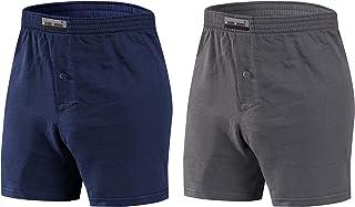 Sesto Senso Pantaloncini Pigiama Uomo Corti Shorts Cotone Quadri Semplice