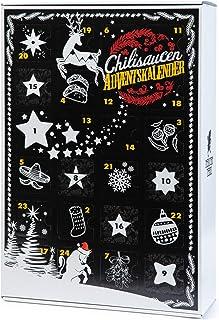 Mexican Tears - Scharfe Sauce Adventskalender mit 24 unterschiedlichen Chilisaucen, limitierte Auflage 24x12ml Chili Sauce