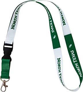 University of North Texas Lanyard Keychain UNT