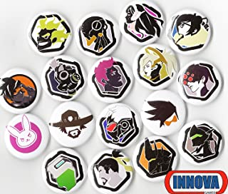 OVERWATCH BUTTON PACK (6 RANDOM BUTTONS) 1