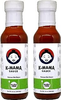 K-Mama All-Purpose Gochujang Korean Hot Sauce: Gluten Free (2-Pack)